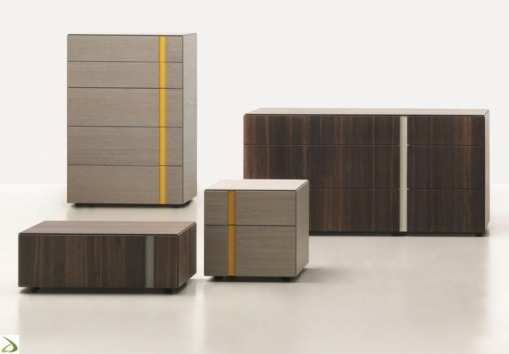 Settimino moderno 5 cassetti Arco | Arredo Design Online