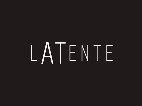 Latente #logo by David de la Iglesia - identity for an association focused on the production and dissemination of cultural activities