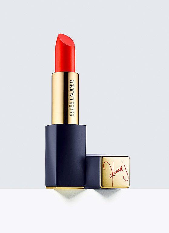 Kendall Jenner x Estée Lauder Lipstick in Restless