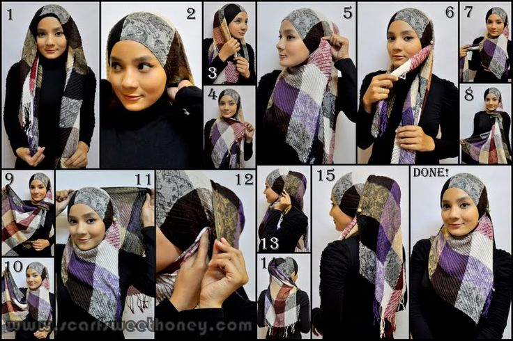 50+ Trendy Hijab Styles Tutorial of 2013 (29)