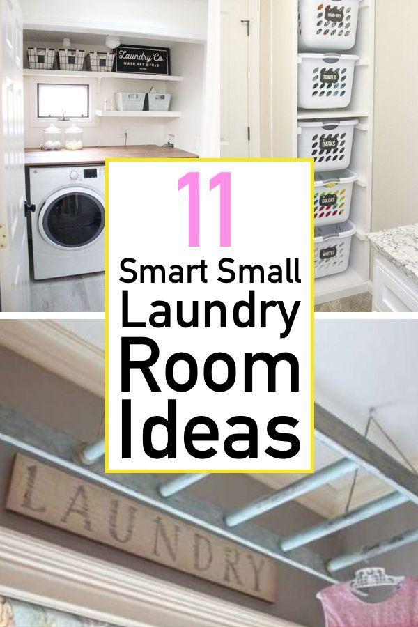 11 Brilliant Laundry Room Ideas The Unlikely Hostess Laundry Room Bathroom Stylish Laundry Room Laundry Room Organization