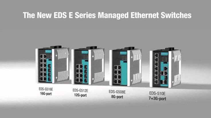 Introducing the Next Generation of Industrial Ethernet Switches EDS E Se...