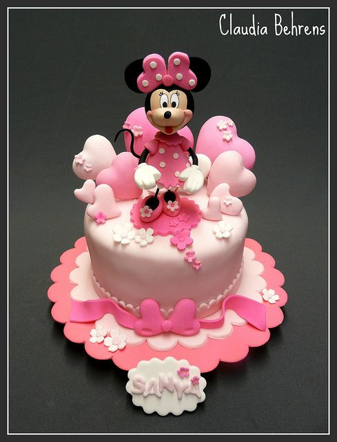 minnie cake sanya - claudia behrens by Claudia Behrens ~ Cakes, via Flickr