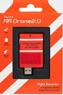 Parrot AR.DRONE 2.0 Flight Recorder: GPS, 4GB, return to take-off location feature >>> You can find out more details at the link of the image.