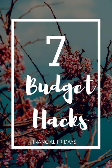Budget Hacks Budget How To Organize finances Pinterest