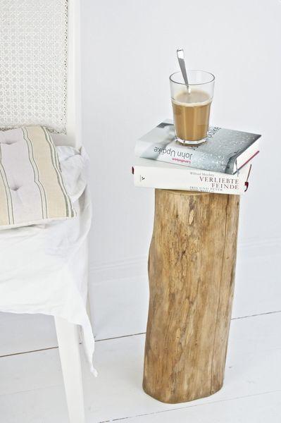 Weiteres - Baumstamm Hocker - ein Designerstück von boheme-living bei DaWanda