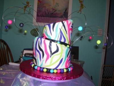 how to make zebra cake inside