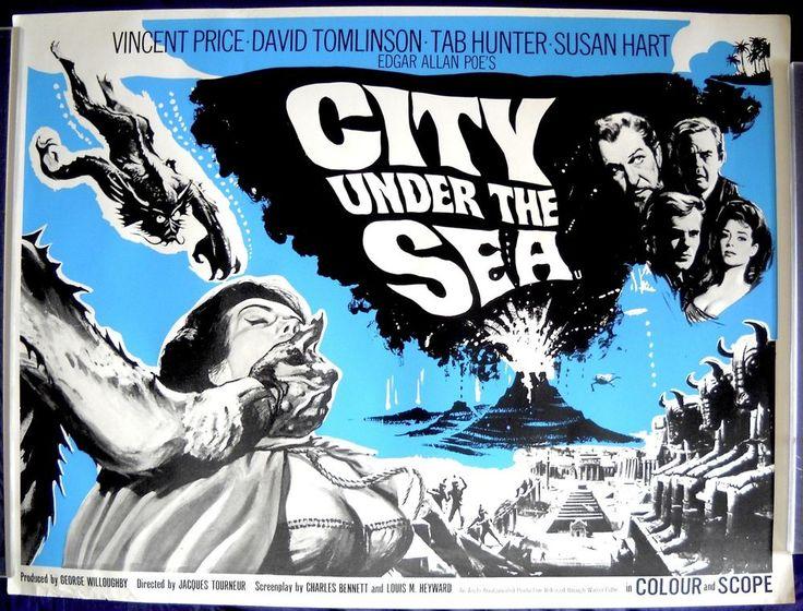 City under the sea movie poster british quad wargods of