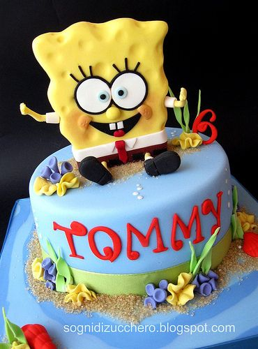 269 best sponge Bob cake more images on Pinterest Sponge bob