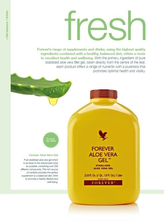 Aloe Vera gel has 75 nutrients and vitamins, will rid the body of toxins, helping with most health issues. Great for energy can be taken from new babies to the elderly Natural daily tonic