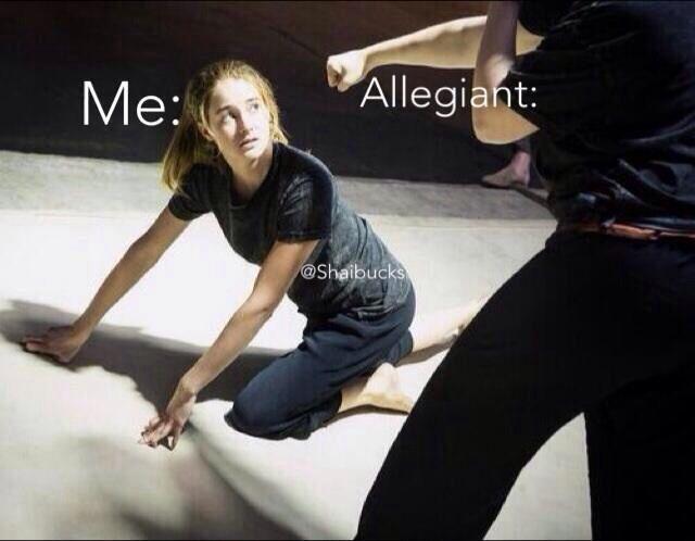 Allegiant ending be like
