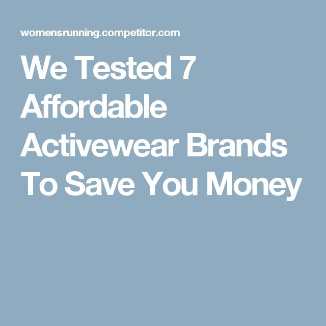 We Tested 7 Affordable Activewear Brands To Save You Money - Sale! Up to 75% OFF! Shop at Stylizio for women's and men's designer handbags, luxury sunglasses, watches, jewelry, purses, wallets, clothes, underwear