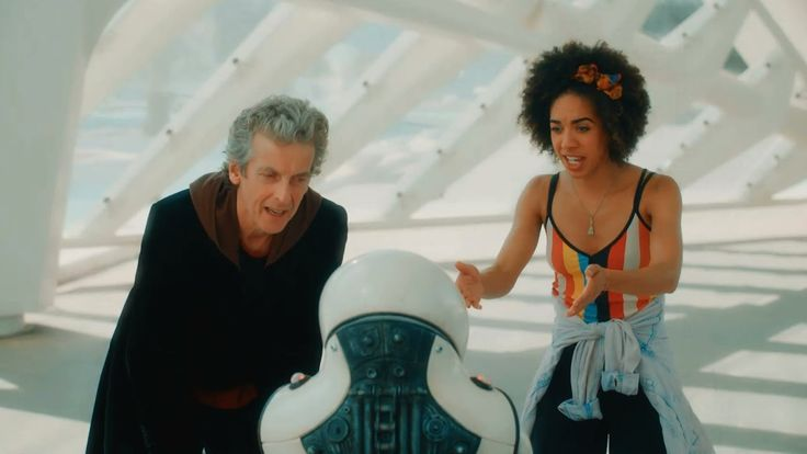 The new trailer for Doctor Who is here. It's Peter Capaldi's final season and it looks like he's literally going out with a bang.