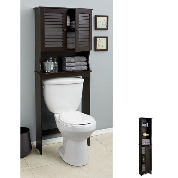 Louvre Bath Furniture   Espresso   Bed Bath U0026 Beyond An Easy Way To  Organize Your