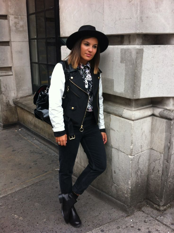 """MONOCHROME MEDLEY"" #streetstyle #blackandwhite #casual #lfw"