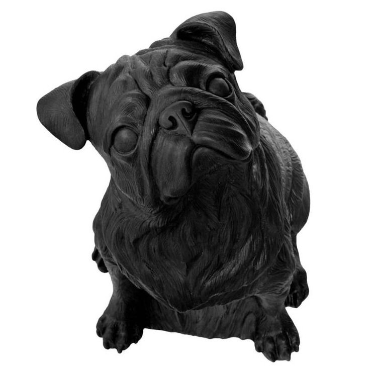 Are you interested in our Pug by Ottmar Horl? With our Dog sculpture you need look no further.