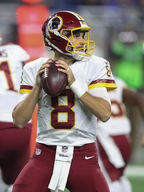 Redskins vs. Lions;   -   October 23, 2016  -  20-17, Lions  -     Washington Redskins quarterback Kirk Cousins. Age: 29. 2016 stats: 16 starts, 97.2 QB rating, 67% completion, 25 TDs, 12 INTs, 96 rushing yards, 4 rushing TDs.  Kirthmon F. Dozier, DFP