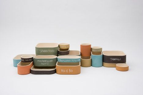 Larisa Daiga Interactive ModularSet.: Interactive Modularset, Ceramics Dishes, Modular Sets, De Producto, Clay Flowers, Modular Tableware, Visual Potlucks, Ceramics Storage, Larisa Daiga