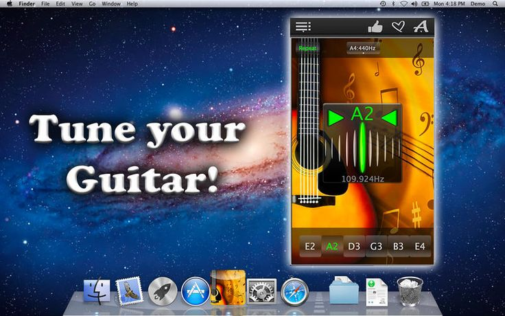 Easy Guitar Tuner for Mac