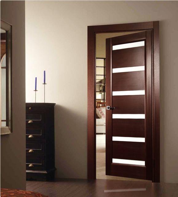 Glass Door Designs For Bedroom minimalist modern sliding glass door designs Tokio Wenge Interior Door With Glass