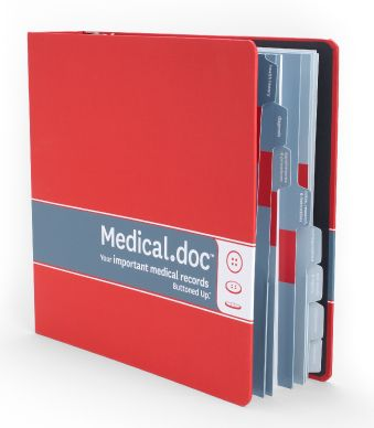 Keep all your health related documents in one location so it's easy for a loved one to access in case of an emergency.