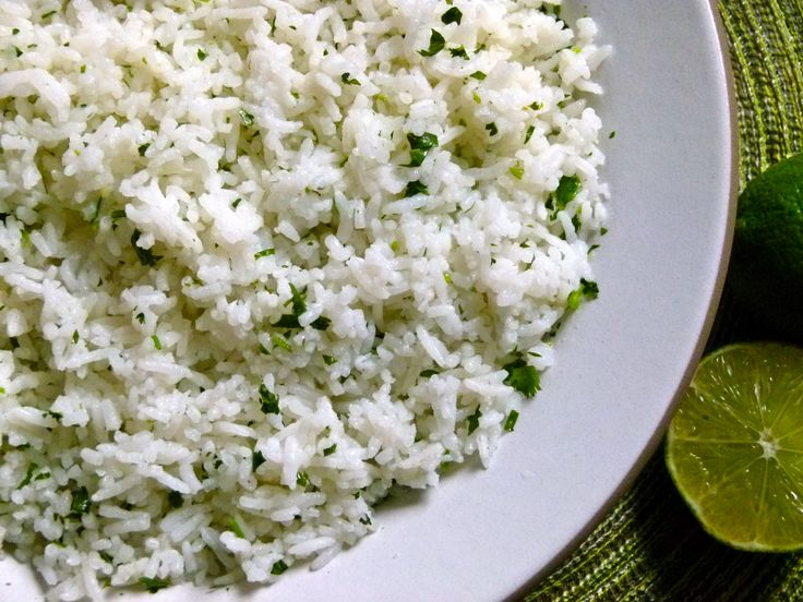 Cilantro-Lime Rice and an Unexpected Rice and Bean Burrito Bowl