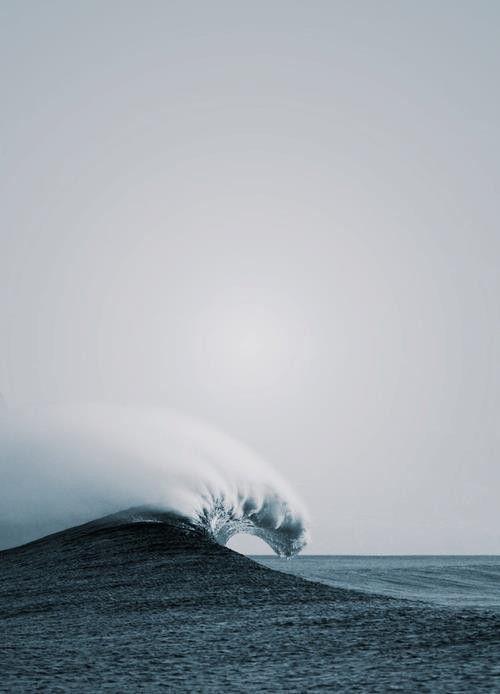 como una ola :)