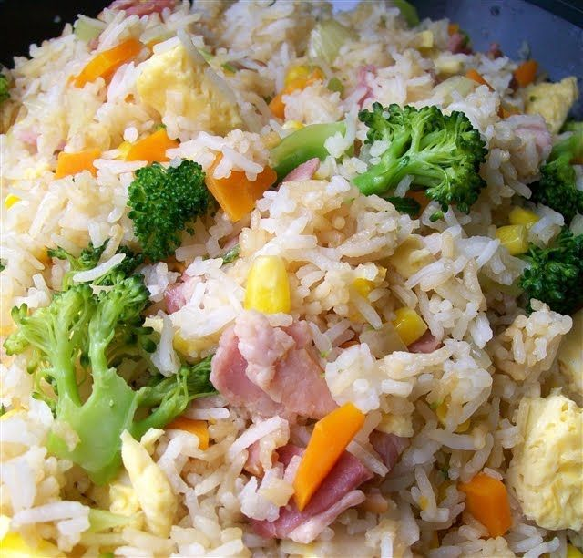Thermomix 'Fried' Rice - Quirky Cooking
