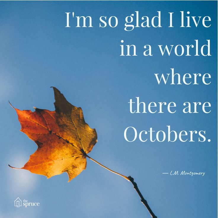 Love This Quote About October ... Do You Know All The Cool October Holidays
