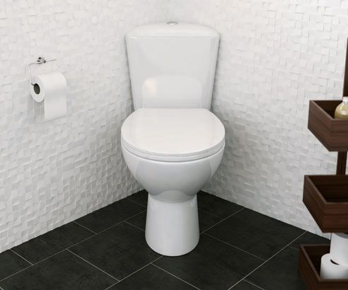 Corner Toilet : MY-2505 Essential Bathroom Corner Toilet scene square medium