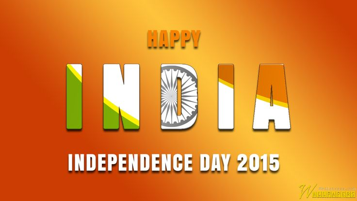 Happy India Independence Day Background 2015