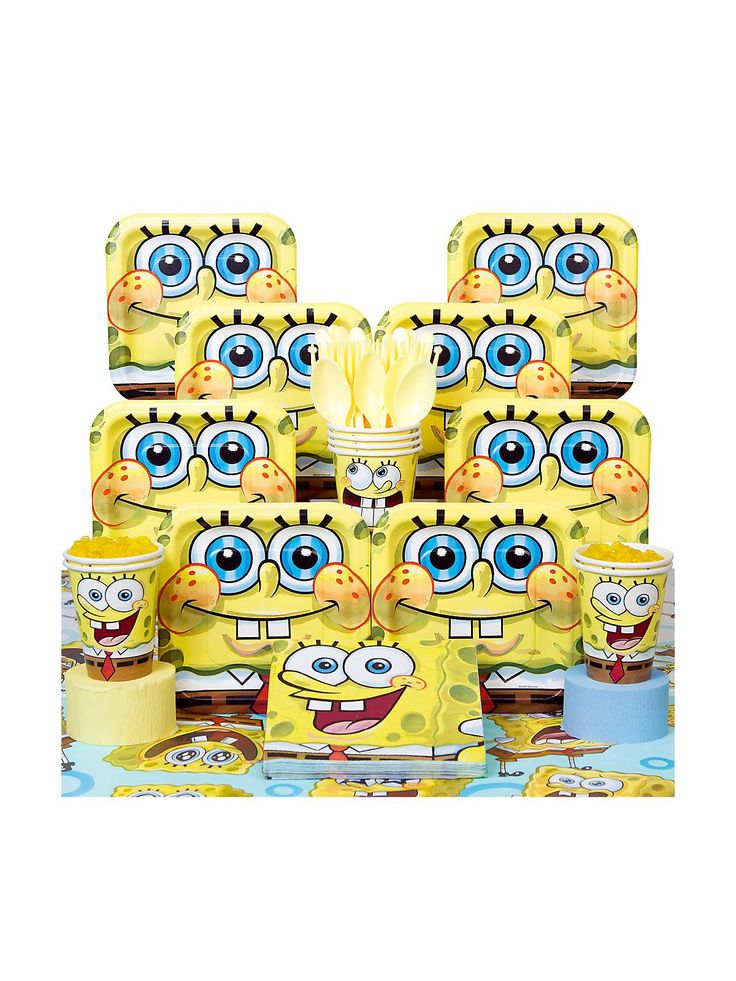 SpongeBob Cupcake and Treat Stand See more dessert accessories at - party city store costumes