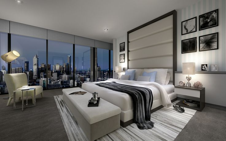 Master Bedroom retreat at Array by Mirvac. http://www.arraybymirvac.com/apartment-types
