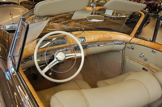 Interior Of Mercedes Benz 220S