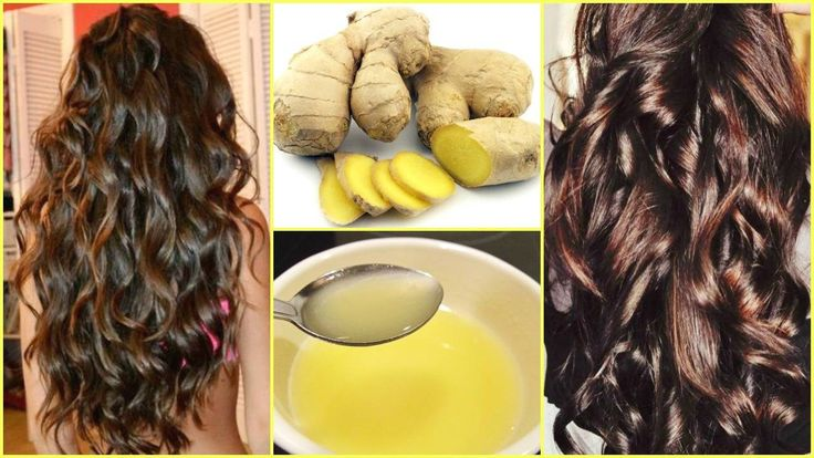 DIY Ginger Hair Stimulator For Extreme Hair Growth