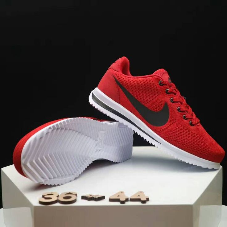 Nike Cortez Red Black Women's shoes