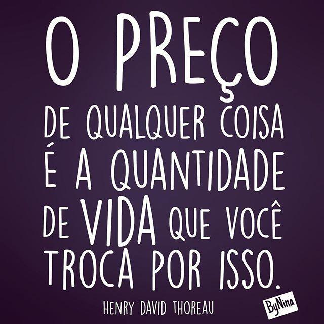 """""""Invista teu tempo no que vale a pena! Bom final de semana! #pensenisso"""