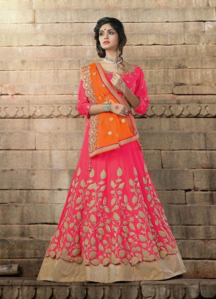 Bridal Bollywood Pakistani Traditional Lehenga Wedding Choli wear Indian Ethnic #TanishiFashion