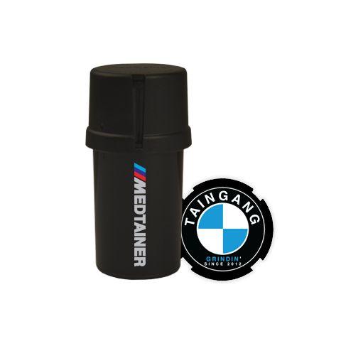 Medtainer Ultimate Grinding Machine Black, 20 Dram - https://www.thepillcrusher.net/product/medtainer-ultimate-grinding-machine-black-20-dram/