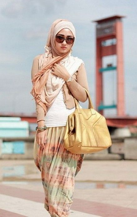 Dian Pelangi Former Wear Veil Collection 2013  Modern Muslim Hijab Fashion