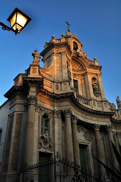 La Collegiata, Catania, Sicily, Italy