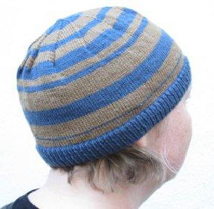 Watch your man wearing this  comfortable  knitted hat for you to start knitting…