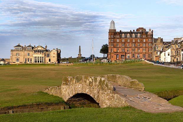 Swilcan Bridge/Old Course