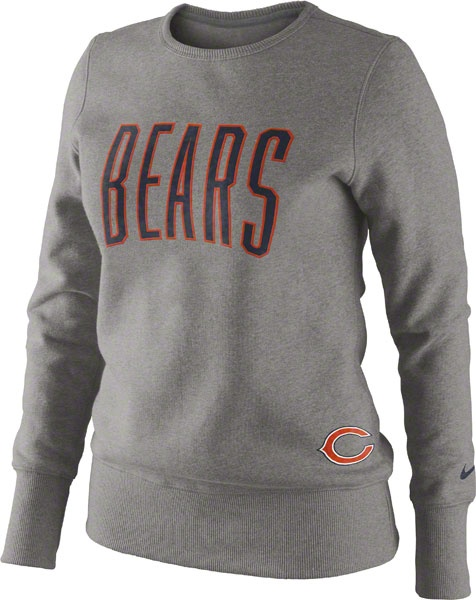 Chicago Bears Women's Tailgater Fleece Crew Sweatshirt by Nike $54.95