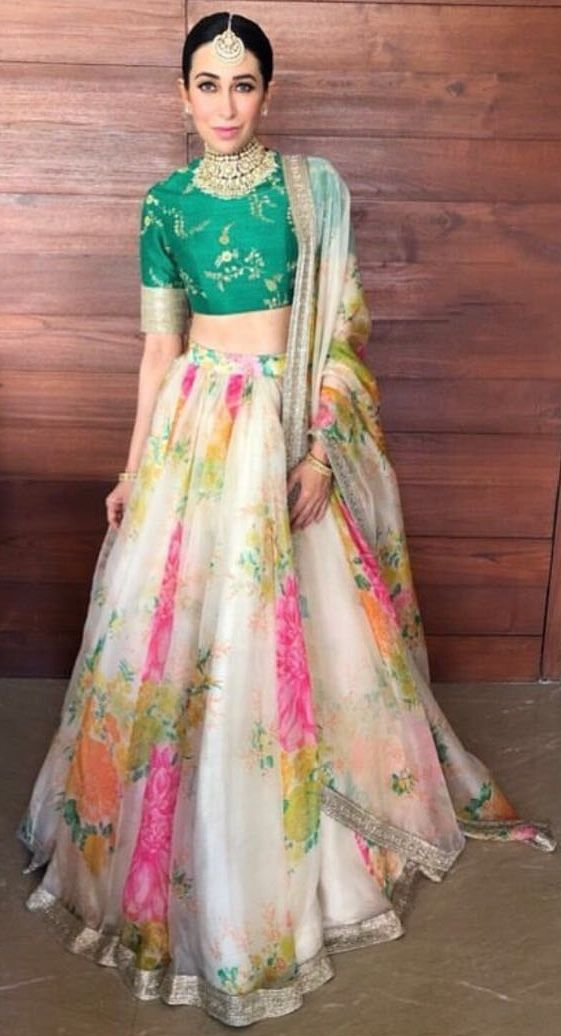 4ded76076d Pinterest • @KrutiChevli | Lehenga, Dress & Saree | Indian dresses, Indian  designer wear, Lehenga
