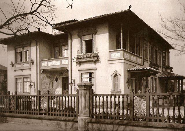 10 Casarões da Avenida Paulista para matar saudades:Residência de Numa de Oliveira – 1920, projeto do arquiteto Ricardo Severo: