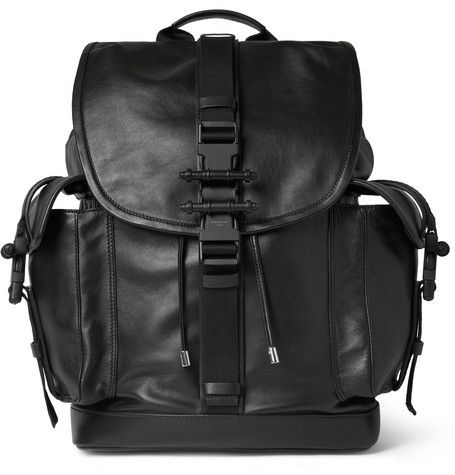 #Givenchy Leather Obsedia Backpack | MR PORTER
