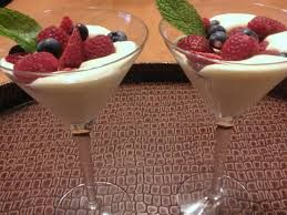 Zabaglione Recipe: 8 egg yokes  1/2 cup sugar  1 cup marsala wine  a double boiler Whisk egg yokes and sugar until pale and creamy.  Add wine.  Put over a double boiler at a simmer and whisk continually for 8-10 minutes until soft peaks form. Delish!  make sure you use a wine that you like to drink!