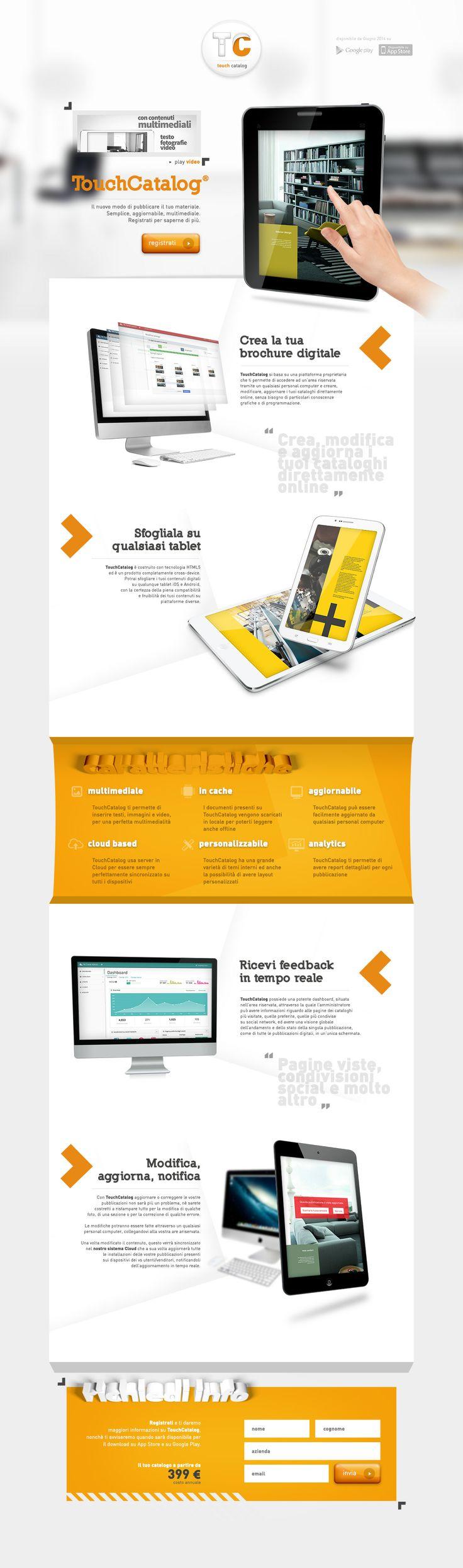 Touch Catalog web site