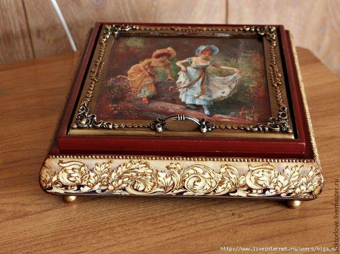 шкатулка от Елены Олейниковой